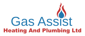 Logo and link to Gas Assist a website design for Swadlincote company