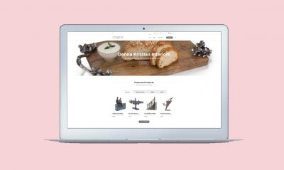 Portfolkio Example: Burton on Trent Website Design Services Portfolio Image of ecommerce Website