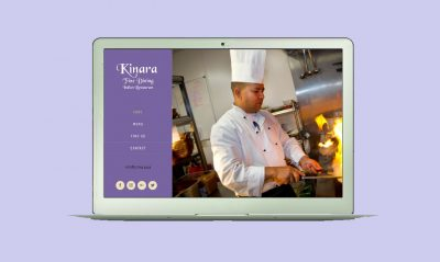 Burton on Trent Website Design Services Portfolio Image of Kinara Website