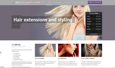 web design burton on trent agency - Website Design Burton on Trent - Portfolio Image for Lucys in Burton on Trent and Derby Area