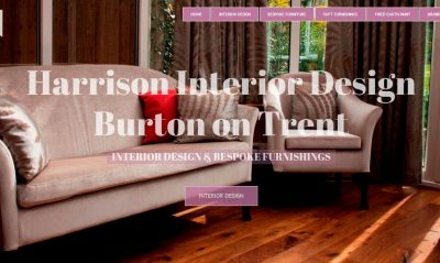 web design burton on trent agency - Website Design Burton on Trent - Portfolio Image for Marguerite Interior Design